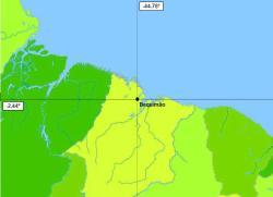 localização de bequimão