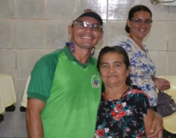 Dona Rosa Almeida, de 70 anos