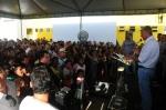 Prefeito fala ao povo de Bequimão