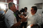 Prefeito Zé Martins concede entrevista ao jornalista Paulinho Castro
