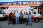 Servidores do município com o prefeito Zé Martins
