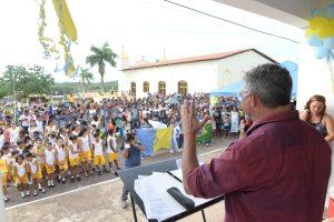 Prefeito Zé Martins discursa e ressalta legado que está sendo construído em sua gestão