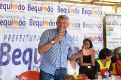Prefeito Zé Martins destacou que sua administração dá atenção especial às comunidades quilombolas