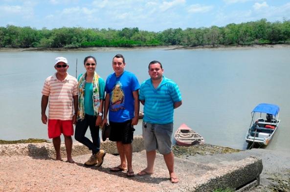 Equipe da SEMATUR e SEMPA do município de Bequimão