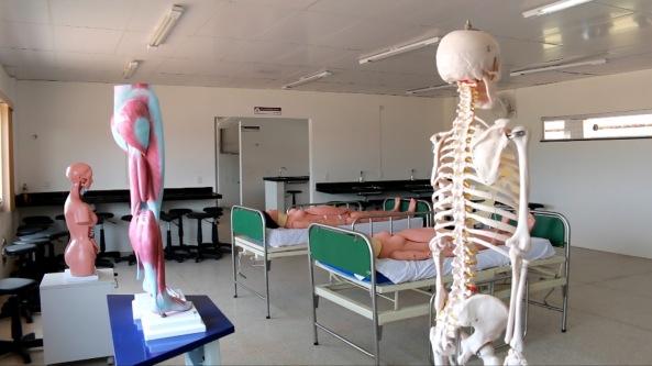 Parte interna do hospital Macrorregional da cidade de Pinheiro