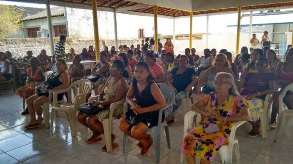 Mulheres de Bequimão no segundo dia