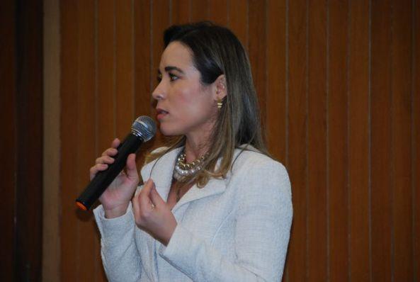 Érica Beckman falou sobre a importância de garantir o acesso à escola
