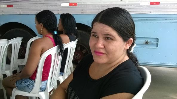 Lavradora Cleidiane Oliveira Pereira, moradora de Mojó