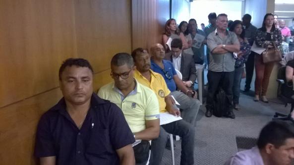 Ricardo Lemos (gestor de transporte escolar) e Aristides França (secretário de educação) de Bequimão