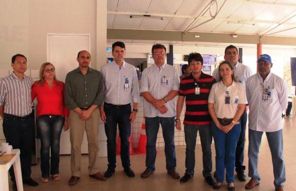 Superintendente do Sebrae, João Martins ao lado do presidente da EMAP, Ted Lago