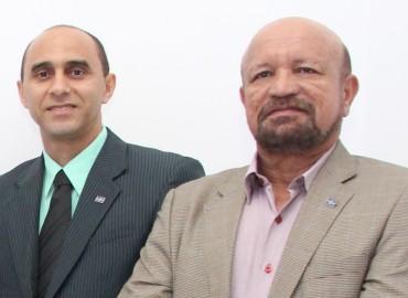Diretores superintendente e técnico do Sebrae-MA, João Martins e José Morais
