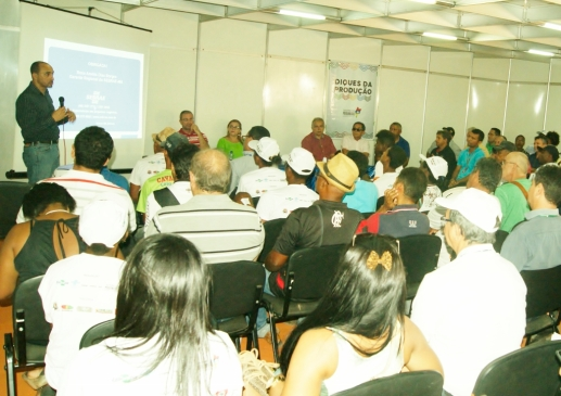 Diretor superintendente do Sebrae, João Martins, apresentou as ações do polo de empreendedorismo rural da Baixada Maranhense