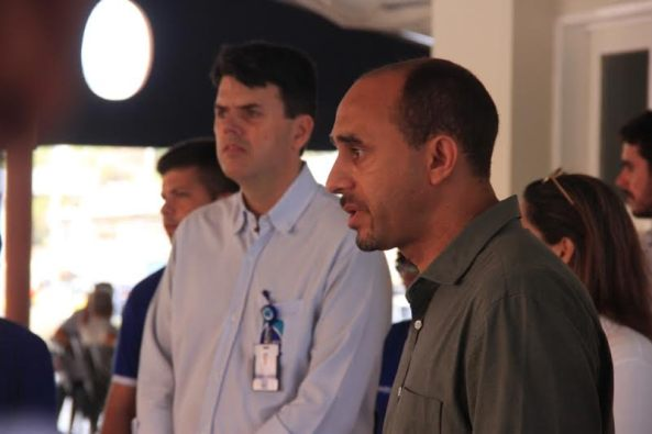 Presidente da EMAP, Ted Lago, e diretor superintendente do Sebrae, João Martins, formalizaram em dezembro do ano passado a parceria para qualificar os empreendedores do Terminal do Cujupe