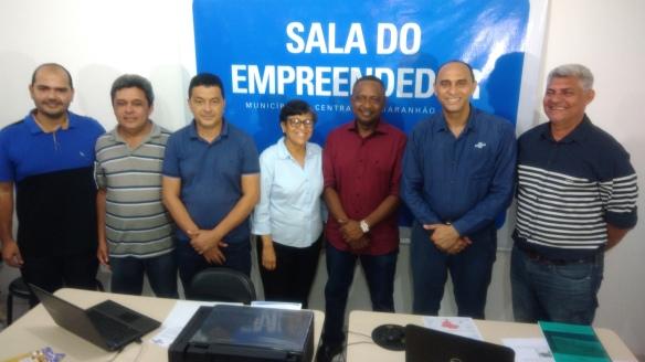 Resultado de imagem para Reinaugurada a Sala do Empreendedor de Central do Maranhão